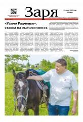 Выпуск газеты «Заря» № 22 от 11 июня 2021 года