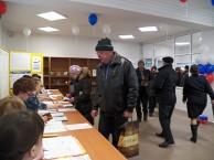 У жителей района есть 12 часов для того чтобы решить, кто станет президентом России на ближайшие шесть лет.  Не упустите возможность принять участие в этом важнейшем для страны событии!