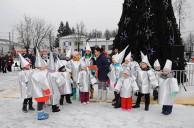 Веселым и задорным праздником медынцы встретили Зиму!