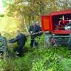 55 лет на службе лесу