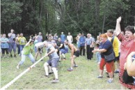 Сельские  игры: спортивный азарт и дружба