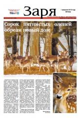 Выпуск газеты «Заря» №10-12 от 1 февраля 2019 года