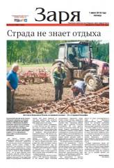Выпуск газеты «Заря» №64-66 от 1июня 2018 года
