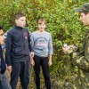 Путь бойца прошли школьники из Медыни и Михеева