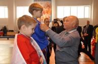 Юрий Лужков поздравил юных чемпионов Первенства России по универсальному бою
