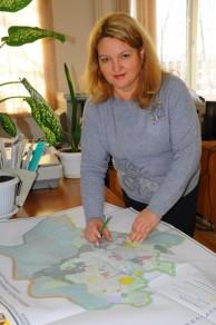 Работа отдела — на карте района