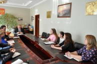 Глава администрации района  встретился с медынской молодежью