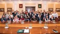 Школьники Медынского района встретились с губернатором