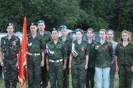 По местам обороны подольских курсантов