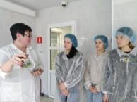 Учащиеся аграрных классов Калужской области ознакомились с деятельностью ведущего экспортера сельхозпродукции ООО «Зеленые линии – Калуга»
