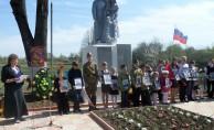 Митинг у братской могилы д.Уланово
