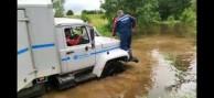 Ливневые дожди подняли  уровень рек в районе