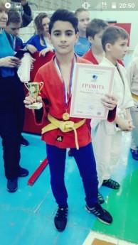 Медынский школьник завоевал бронзу